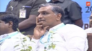 Minister Harish Rao Live | Participate in Rejuvenation of Krishna River | Khairatabad