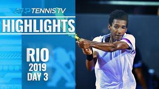 Young guns Auger-Aliassime, Munar shine in Rio | Rio 2019 Highlights Day 3