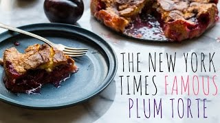 The New York Times Famous Plum Torte