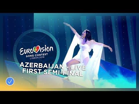 Aisel - X My Heart - Azerbaijan - LIVE - First Semi-Final - Eurovision 2018