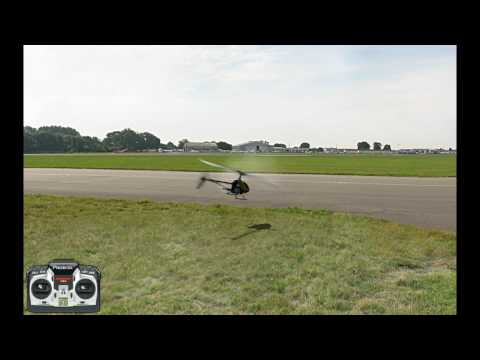Piro flips and travel - RC heli flight school v1.1