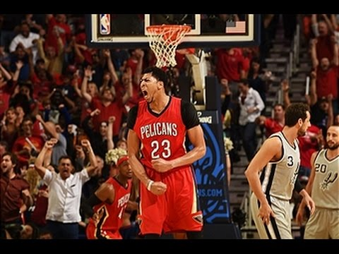 Anthony Leads Pelicans to Playoffs with 31-points