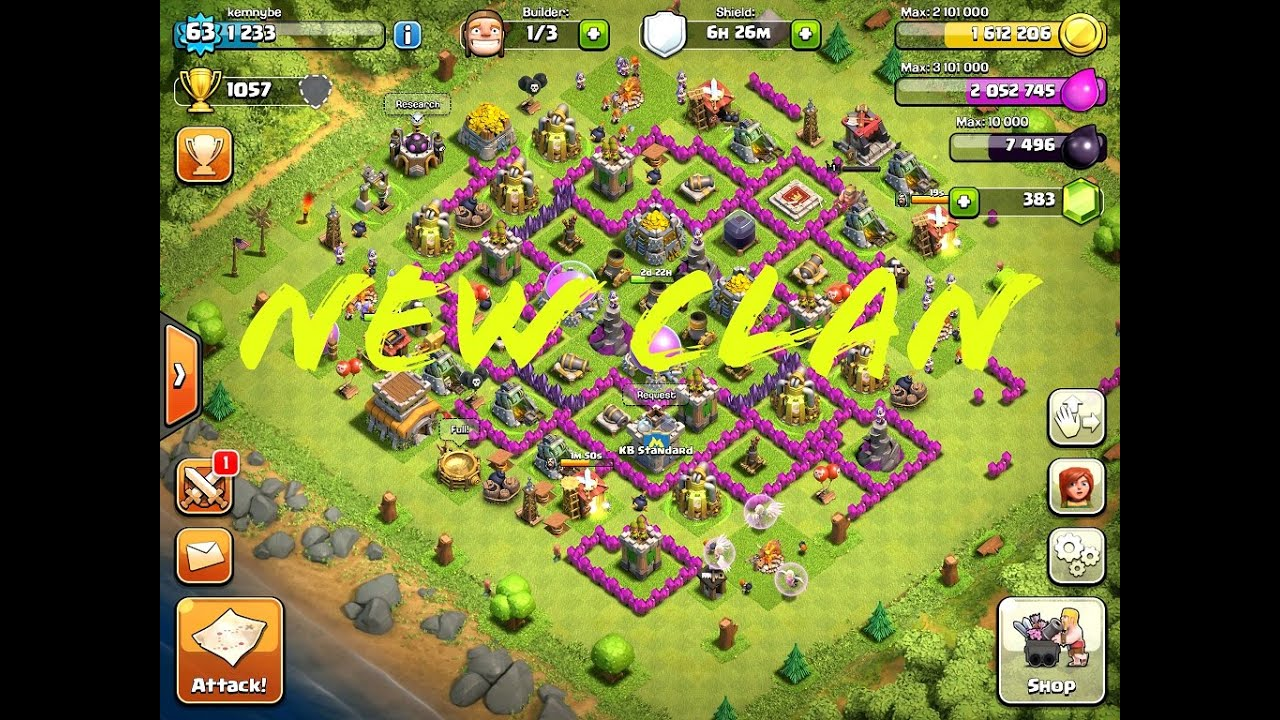 how to add members in clash of clans