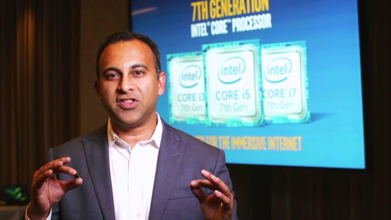 Intel 7th Gen Core: Navin Shenoy Describes Intel's 7th Gen Intel Core Processor