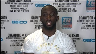 Terence Crawford Talks Amir Khan, Keith Thurman's Criticism and Claressa Shields' Greatness