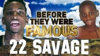 22 SAVAGE  - Before They Were Famous - VS 21 Savage