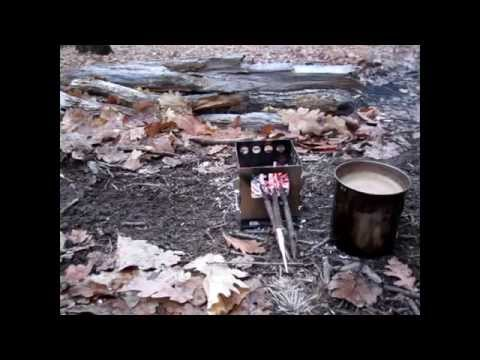 The BushBox - Hobo Stove - Presentation And Test