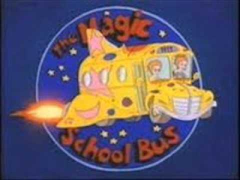 The Magic School Bus Kids Names The Magic School Bus Theme