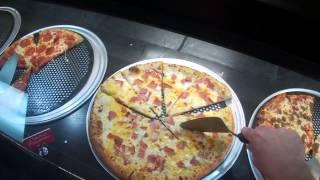 Inside Cici's Pizza in Port Charlotte, Florida
