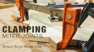 How to Easily Clamp Miter Joints