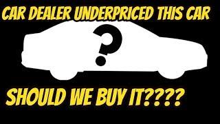 Dealer under priced this turbo car !?