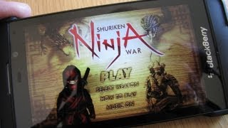 Shuriken Ninja War for BlackBerry 10