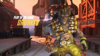 """OverWatch: Play Of The Game """"JunkRat"""" (Parody)"""