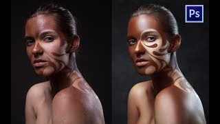 High End  retouching original make-up. RAW-file avaliable for download