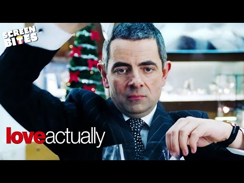 Love Actually   Gift Wrapping   Rowan Atkinson