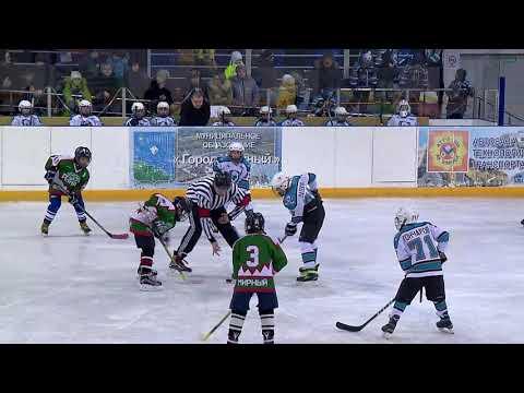 Хоккей Удачный- Мирный дети 2007г.р. г.Удачный 10.11.2017
