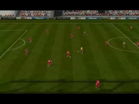 FIFA 14 Android - Unstoppable400 VS Getafe CF (Alvaro Morata goal) Madrid Derby