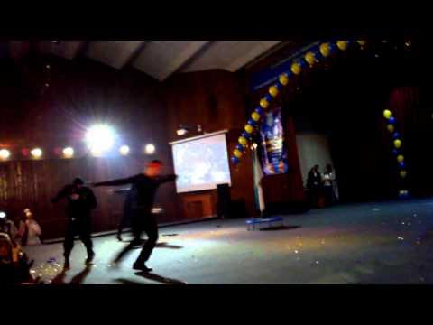 Посвящение в студенты,выступление Никиты КазАСТ(9.10.12)