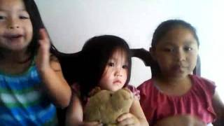 Kids trying to sing hmong