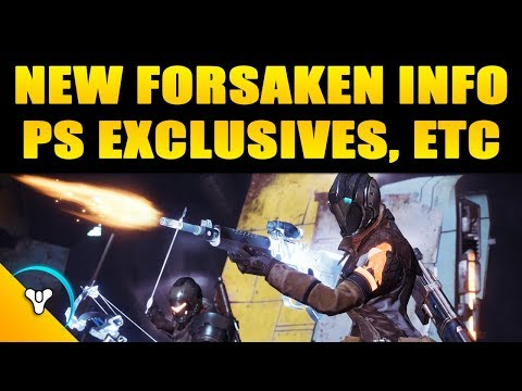 Forsaken Update | PS Exclusives and New Dawnblade Details thumbnail