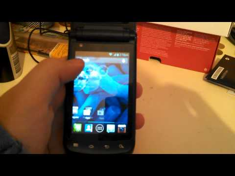 Motorola ANDROID FLIP PHONE part 2!