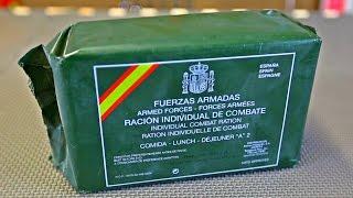Tasting MRE From SPAIN