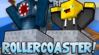 Minecraft - TIME TRAVELLERS! - ROLLERCOASTER! #25 W/Stampy & Ash!