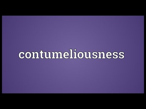Header of contumeliousness