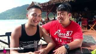 The Wonder Boys in Perhentian with AirAsia