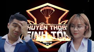 Garena Free Fire| HUYỀN THOẠI SINH TỒN: PEWPEW & MISTHY Tham Gia Quyết Chiến (FULL) - Michael Duy