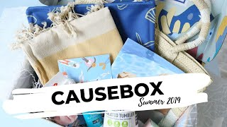 CAUSEBOX Review Summer 2019: Lifestyle Subscription Box