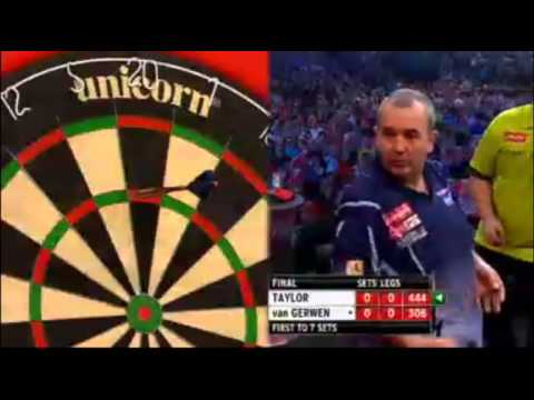 Taylor v van Gerwen | 1/11 | FINAL | World Darts Championship 2013