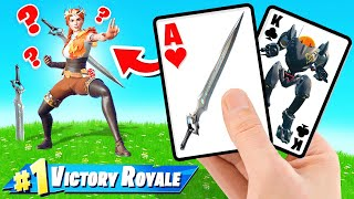 *NEW* MECHS vs SWORD Card Game in Fortnite