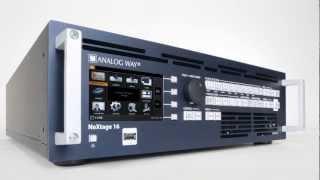 NeXtage 16 - new true-seamless AV processor