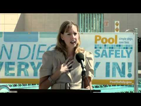 Pool Safely 2011 Launch - Yosina Lisabeck