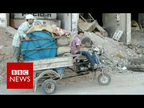 Darayya: 'We don't have homes anymore' - BBC News