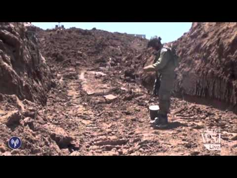 Inside the Hamas Tunnels Israel Wants to Destroy