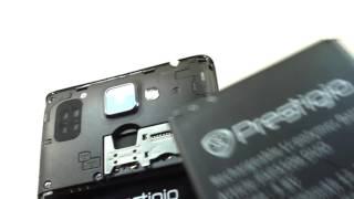 Видео обзор смартфона Prestigio Grace Q5 8 Гб синий