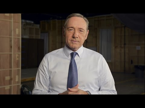 Hang with Kevin Spacey on the set of House of Cards!