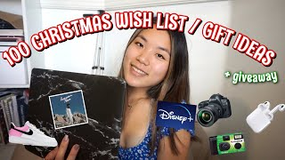 100 Christmas Wish List / Gift ideas + GIVEAWAY 2019