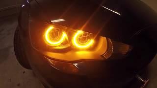 EVO X Custom Dual Halo Headlight Install