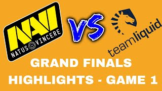 Navi vs Liquid DOTA 2 GRAND FINAL HIGHLIGHTS - MEGAFON WINTER CLASH 2018  [BO5 GAME 1]