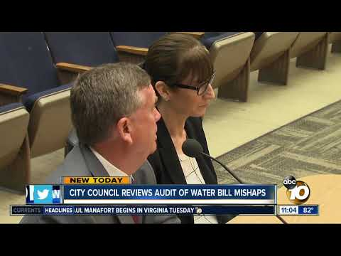 City Council reviews audit of water bill mishaps