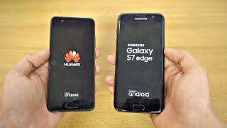 Huawei P10 vs Samsung Galaxy S7 Edge - Speed Test! (4K)