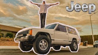 I BOUGHT A JEEP CHEROKEE (XJ Project car) 4x4 off-road