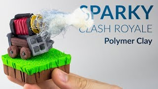 Sparky (Clash Royale) ? Polymer Clay Tutorial