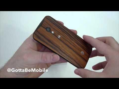 Moto X in Walnut Hands-On & Unboxing