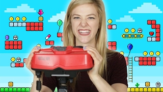 "People Play Nintendo's ""Virtual Boy"" For The First Time"