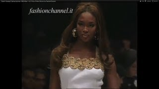 """Gianni Versace"" Spring Summer 1992 Milan 1 of 3 Pret a Porter Woman by FashionChannel"