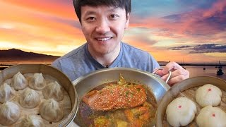 SIZZLING Hotpot, Soup Dumplings & SPICY Noodles: Bay Area Food Tour!